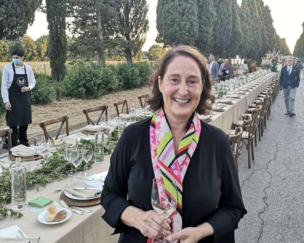 Albiera Antinori, presidente del Consorzio dei vini Bolgheri e Bolgheri Sassicaia Doc
