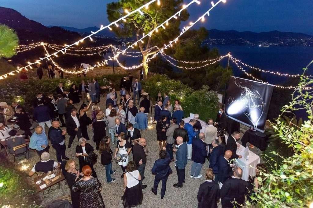 Lunedì 27 settembre, Alberto Massucco ha dato il benvenuto ai propri clienti nel luogo più prestigioso di Portofino, castello Brown