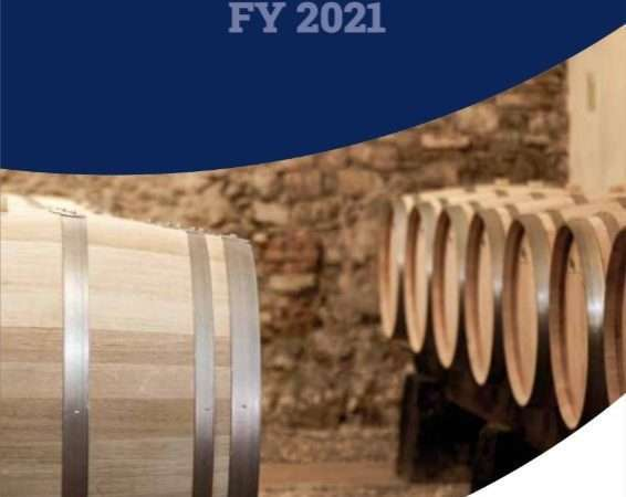 Ruffino: presentato il nuovo bilancio di sostenibilità per l'anno fiscale 2021