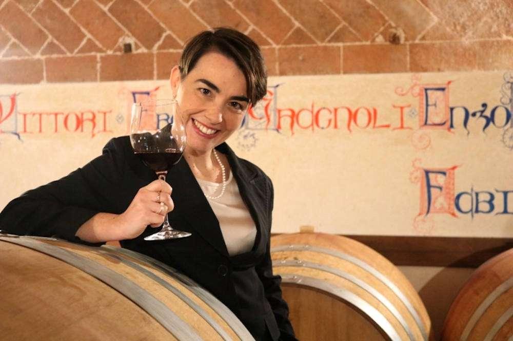 """Violante Gardini Cinelli Colombini, presidente Agivi, associazione che ha aperto il dibattito su """"La nuova generazione del vino e sostenibilità - next generation"""""""