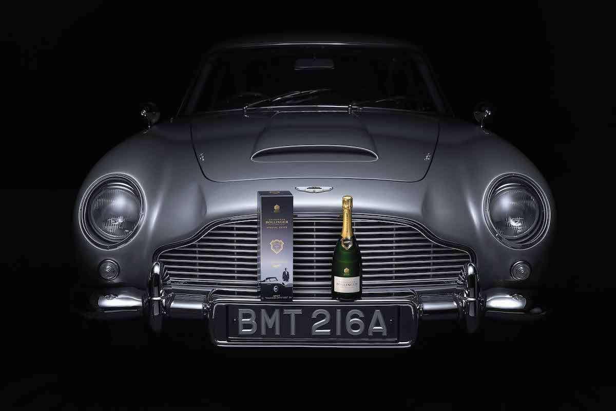 James Bond: Bollinger lancia la gift box edizione limitata per No Time To Die