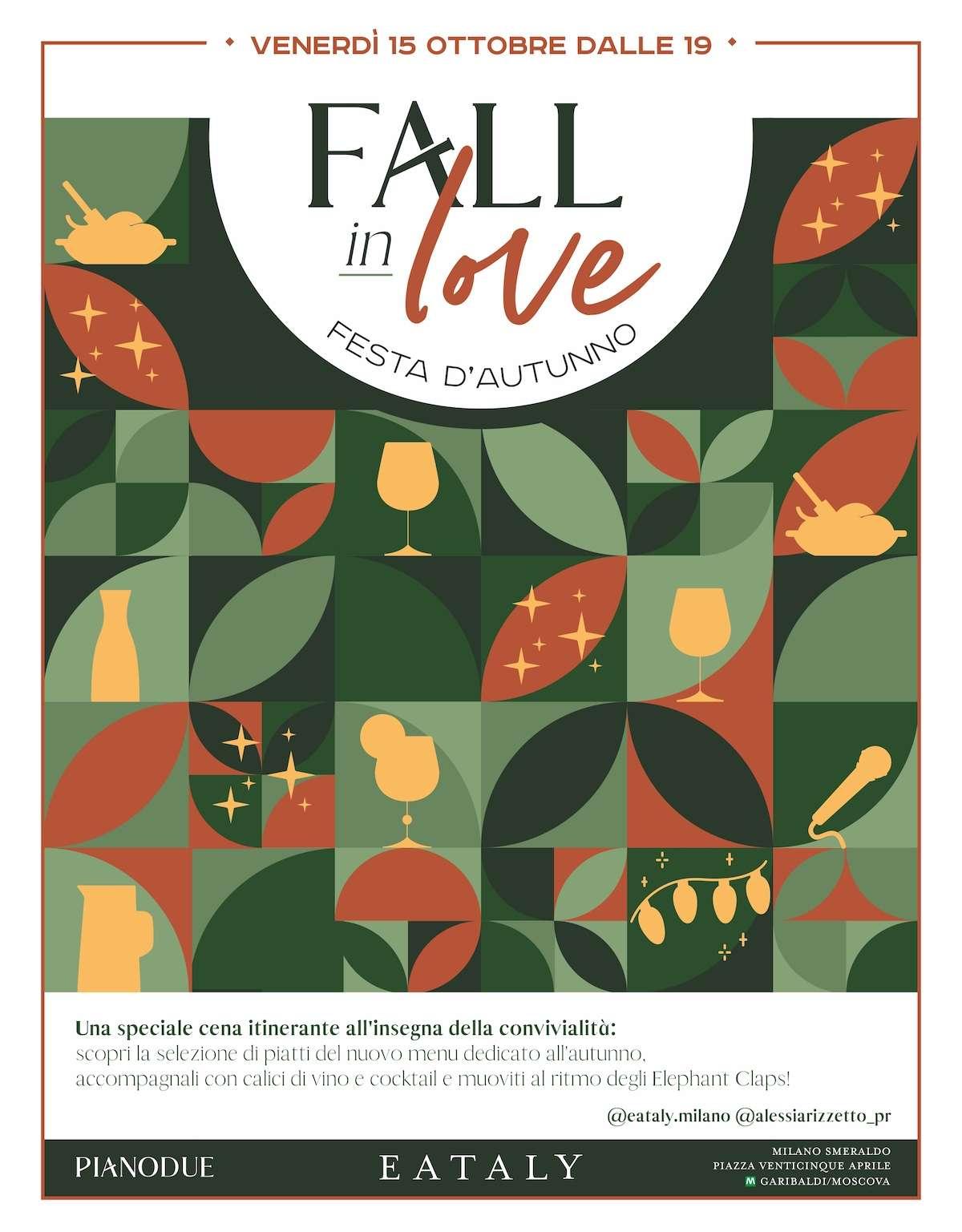 Fall in Love, la festa d'autunno di Eataly a Milano