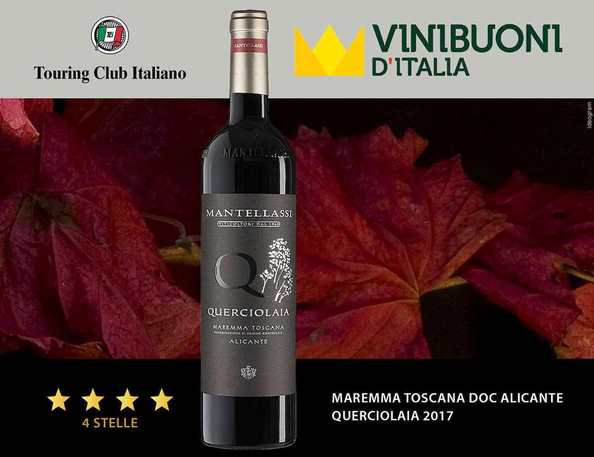 Fattoria Mantellassi, pioggia di stelle a Vinibuoni d'Italia 2022