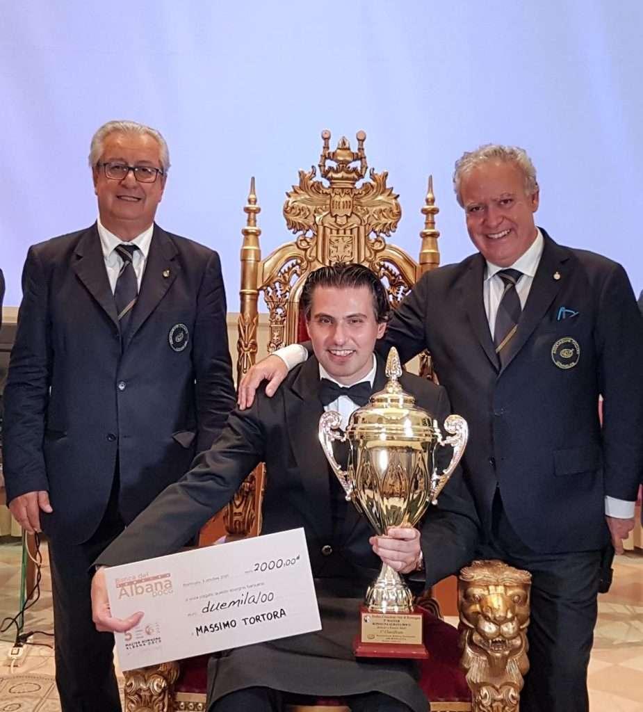 Il vincitore del Master Romagna Albana: Massimo Tortona