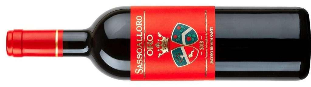 Il Sassoalloro Oro è un vino frutto specifico del vigneto dell'Aia di Clemente